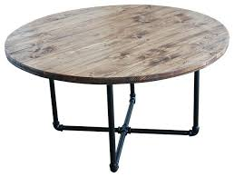coffee table industrial industrial style