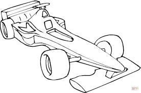 Disegno Di Macchina Da Formula 1 Da Colorare Disegni Da Colorare E