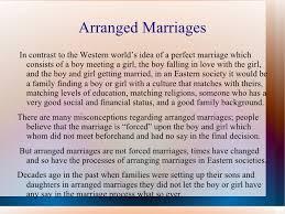 Essay On Arranged Marriage Under Fontanacountryinn Com