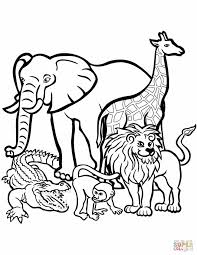 Free Easy Farm Animal Coloring Pages For Kids Printable Coloring