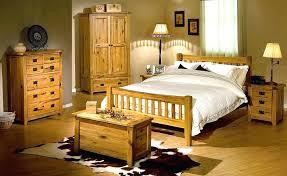 oak bedroom set excellent mission