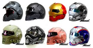 unusual motorcycle helmets for some unique rider style