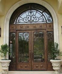 classical iron doors sat red color with wrought design transom glass door inserts toronto glass door entry wrought iron doors entrance house front inserts