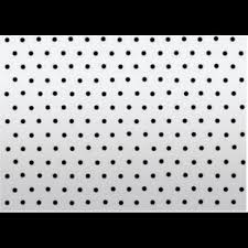 Micro Perforated Aluminum Venitian Blind 25mm White Bdf Douineau