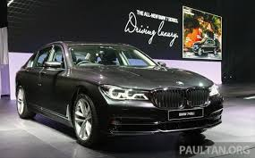 new car launch in malaysia 2016G11 BMW 7 Series launched in Msia  730Li 740Li fr RM599k