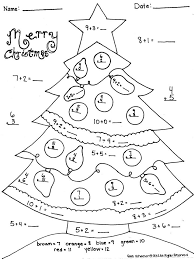 Christmas Addition Worksheet- Great for Morning Work! | Christmas ...