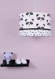 Hanglamp Panda Mint Zwart Wit Meisjeskamer Girlsroom