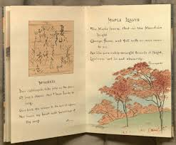 kenneth spencer research library blog acirc sword and blossom poems image of opening for the poems misere and maple leaves from volume ldquo