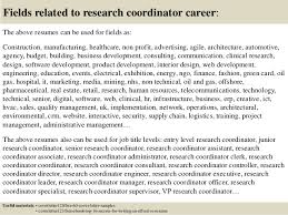 Brilliant Ideas Of Top 5 Research Coordinator Cover Letter Samples
