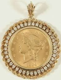 gold coin jewelry gold pendant jewelry