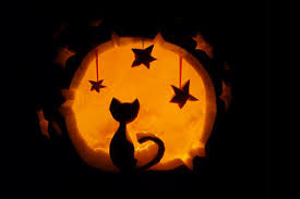 Pumpkin Carving Pattern Mesmerizing Halloween Pumpkin Carving Cat Patterns Pumpkin Carving Pattern