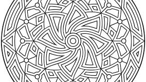 Geometric Free Coloring Pages On Art Coloring Pages