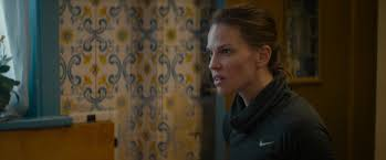 Nike Turtleneck Running Shirt Worn By Hilary Swank In What They Had (2018)