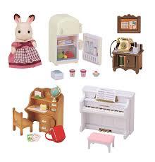 Sylvanian Families Bedroom Furniture Set Sylvanian Families Classic Furniture Set For Cosy Cottage Starter