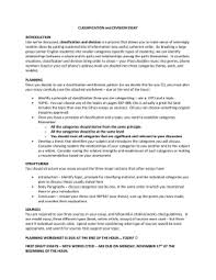 sentence essay english 12 classification and division essay 1
