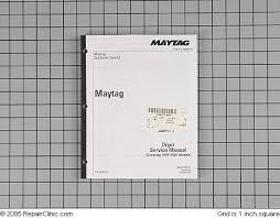 Maytag Gas Electric Lde Ldg Dryer Repair Manual Applianceblog