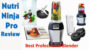 ninja professional blender 900 watts.  Ninja Nutri Ninja Pro BL456 Review  900  Watt Blender With Professional Watts F