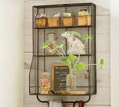 Small Picture Kitchen Wall Mounted Wire Storage Racks Idea Shelves Twotinascom