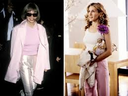 Carrie Bradshaw Did Anna Wintour Inspire Carrie Bradshaws Style
