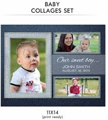 baby collage frame baby collage set john baby