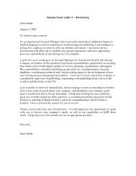Cover Letter Sample For Account Manager Best Account Manager Cover