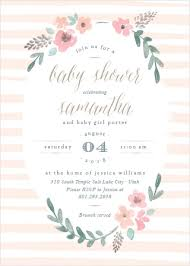 Vintage Baby Shower Invitations Match Your Color Style Free