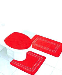 memory foam bathroom rug set red bathroom rug set unique red bathroom rug set for red