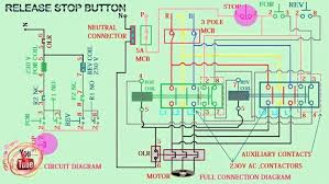 magnetic contactor wiring diagram wiring diagram wiring diagram for contactor and overload magnetic contactor wiring diagram 7