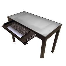 glass wood computer desks stunning and desk photos ideas home decor deckngs deskglass 94