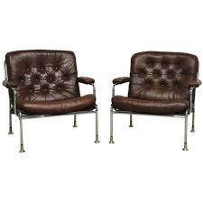 home seating chairs swedish chrome and leather