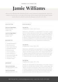 Modern Elegant Font For Resume Modern Resume Template Creative Cv For Word Elegant