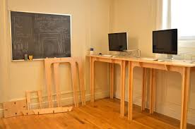 Image of: Portable Standing Desk By Furinno