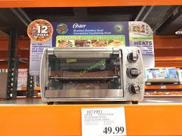 costco 1871951 oster 6 slice convection countertop oven
