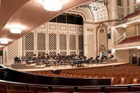 Music Hall Seating