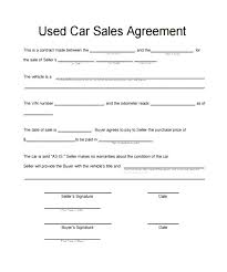 Car For Sale As Is Vehicle Sale Agreement Gtld World Congress