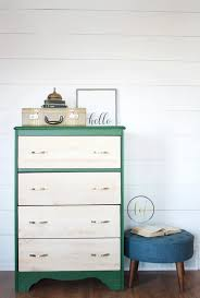 painted green furniture. Emerald Green Two-Tone Painted Dresser | Country Chic Paint - Eco-friendly Furniture N