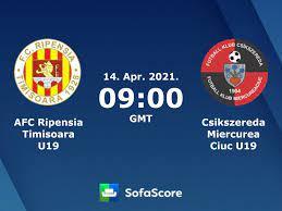AFC Ripensia Timisoara U19 Csikszereda Miercurea Ciuc U19 Live Ticker und  Live Stream - SofaScore