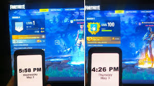 Fortnite Season 4 Level Chart Level 1 To Level 100 In 24 Hours Season 4 New Secret To Max Level 100 In Fortnite Battle Royale