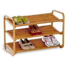 shoe organizer furniture. Amazon.com: Honey-Can-Do SHO-01599 Bamboo 3-Tier Shoe Shelf: Home \u0026 Kitchen Organizer Furniture