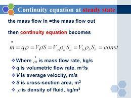 9 continuity equation