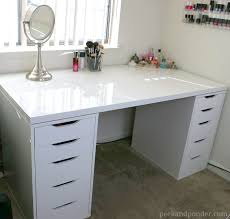 ikea vanity top. Beautiful Top Ikea Drawers For Possible Homework And Craft Station I Wish Had Done  This Instead Of The Tile Top Table From Wayfair This Is Way More Practical  In Vanity Top R