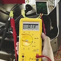 charging system battery alternator test briggs stratton ac volts test