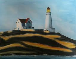 lighthouse hill after edward hopper