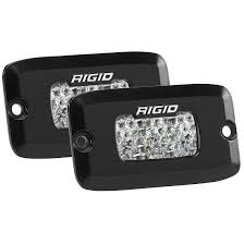 Rigid Back Up Lights Amazon Com Rigid Sr M Series Pro Diffused Backup Kit Flush