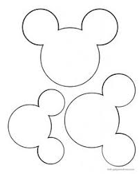 mickey head template printable printable mickey mouse ears template google search birthday