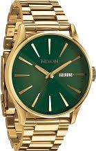"green watches watch shop comâ""¢ mens nixon the sentry ss watch a356 1919"