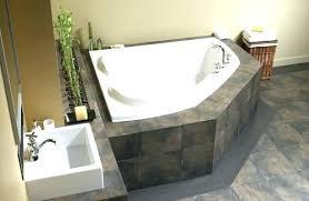 tubs menards bathtub appealing brown co x corner bathtub at for traditional long corner tub besides tubs menards