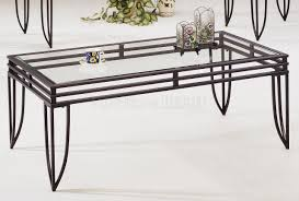 ... Coffee Table, Excellent Black And Clear Antique Metal And Glass Coffee  Table Idea To Improve ...