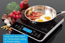duxtop lcd 9600ls 1800 watt portable cooktop countertop induction burner