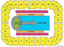 Berglund Center Theater Seating Chart Berglund Center Coliseum Tickets In Roanoke Virginia